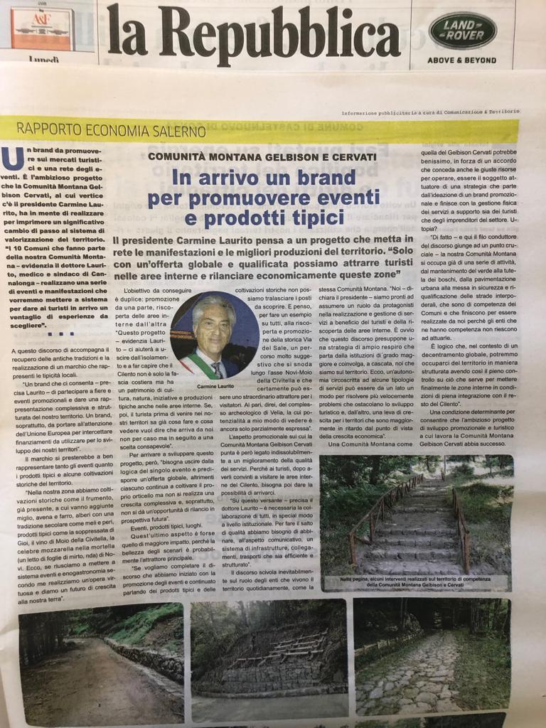 INTERVISTA AL PRESIDENTE DOTT. CARMINE LAURITO